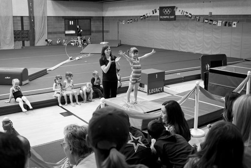 Mimi's Gymnastics Show