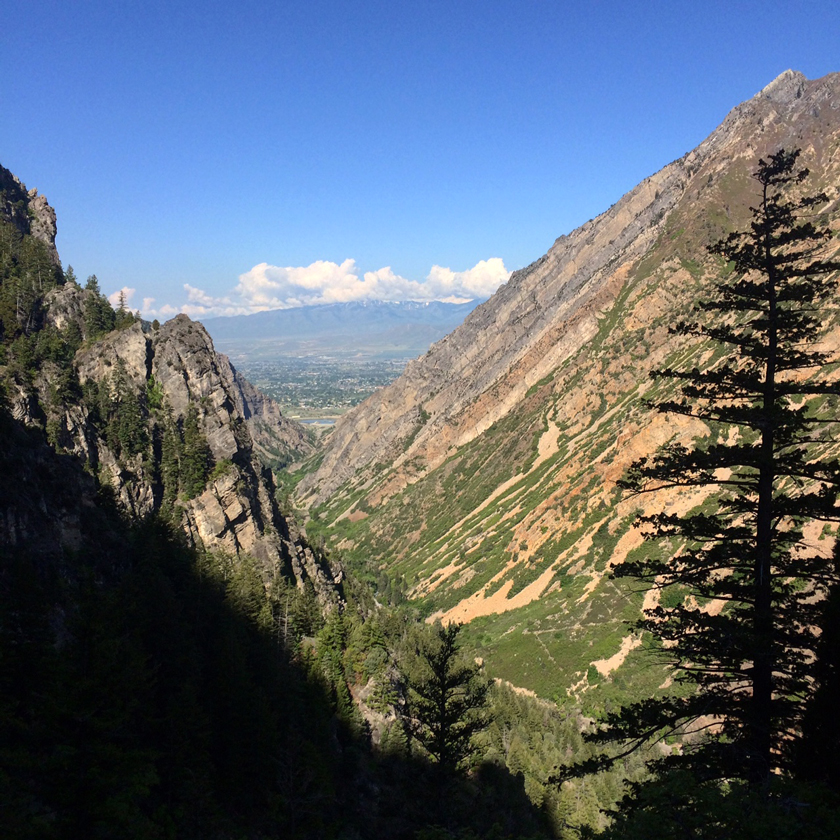 Hiking the Timp Cave Trail