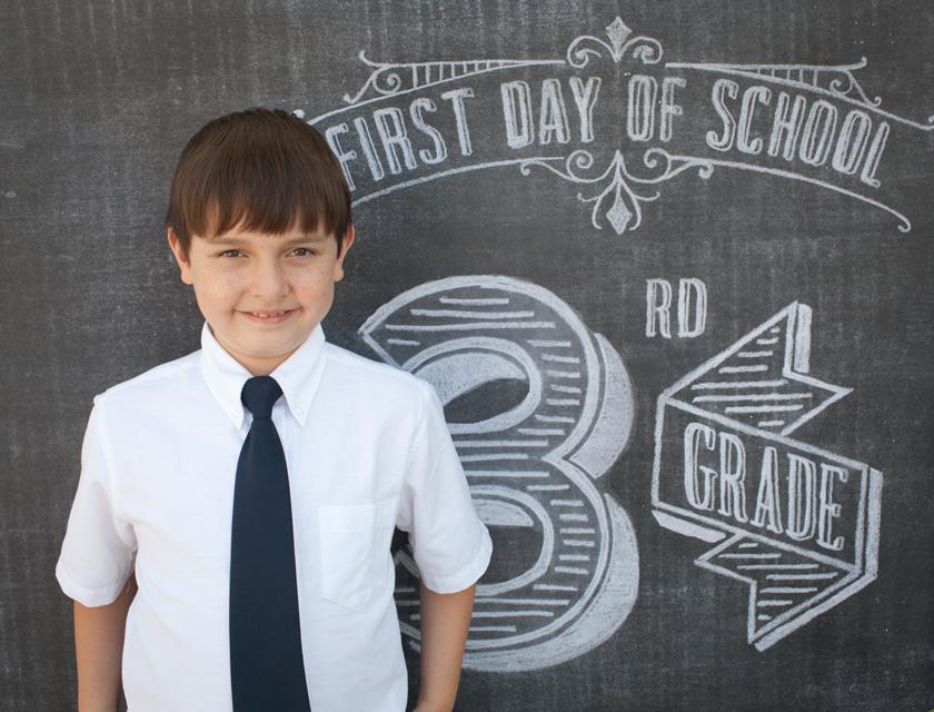 E Starts 3rd Grade
