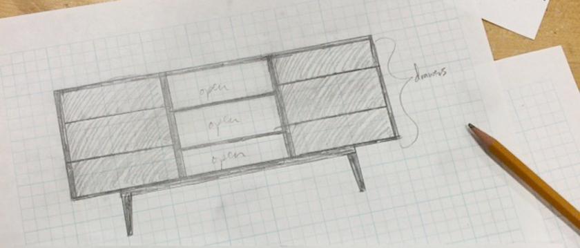 Woodworking: Modern TV Cabinet